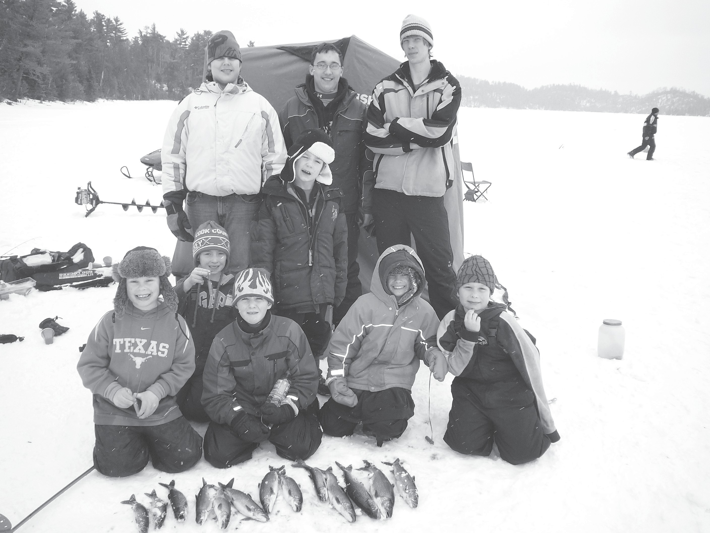 Ice fishing Scouts enjoy day on Moss Lake | Cook County News