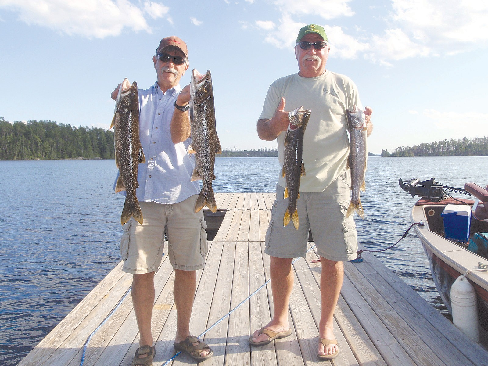 Where are the fish biting?   Cook County News Herald